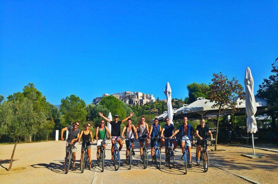 Ποδήλατο στην Αθήνα- Το  Athens by bike προτείνει